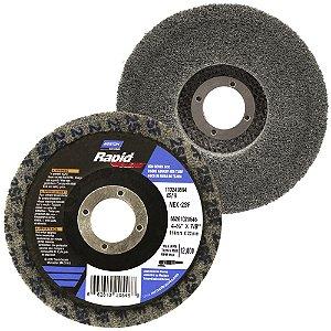 Disco de Acabamento Rapid Blend Nex-2SF Cinza 115 x 22 mm Caixa com 10