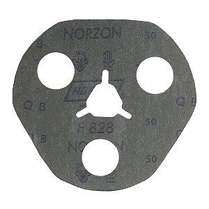 Disco de Avos Fibra F828 Grão 50 115 x 22 x 3 mm Caixa com 100