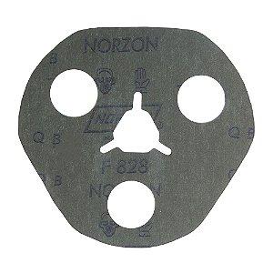 Disco de Avos Fibra F828 Grão 60 115 x 22 x 3 mm Caixa com 100