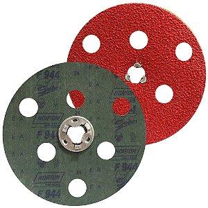 Caixa com 25 Disco de Avos Fibra F944 Troca Rápida Grão 24 180 x 22 mm