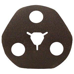 Caixa com 100 Disco de Avos Fibra Metalite F227 Grão 120 115 x 22 mm