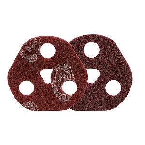 Caixa com 25 Disco de Avos SCF Vortex Médio Vermelho 115 x 22 mm