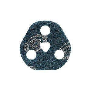 Caixa com 25 Disco de Avos SCF Vortex Muito Fino Azul 115 x 22 mm
