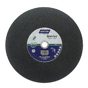 Disco de Corte BNA Rail Azul 356 x 4 x 25,4 mm Caixa com 10