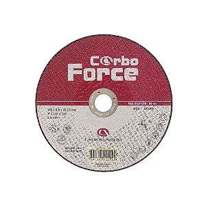 Caixa com 25 Disco de Corte Carboforce 230 x 3 x 22,23 mm