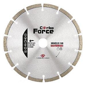 Disco de Corte Carboforce Diamantado Segmentado 180 x 22,23 mm Caixa com 5