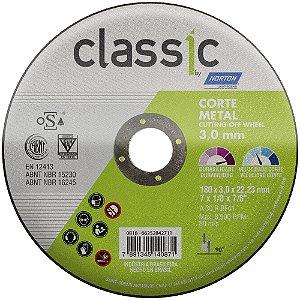 Caixa com 10 Disco de Corte Classic Basic AR302 180 x 3 x 22,23 mm