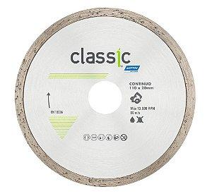 Caixa com 10 Disco de Corte Classic Contínuo Diamantado 110 x 20 mm