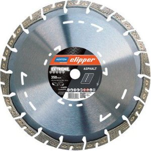 Caixa com 1 Disco de Corte Clipper Diamantado iHD Extreme Asfalto 350 x 25 mm
