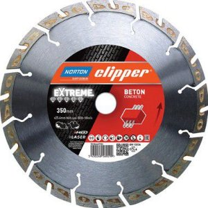 Caixa com 1 Disco de Corte Clipper Diamantado iHD Extreme Beton 350 x 25 mm