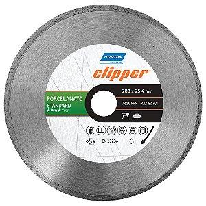 Caixa com 3 Disco de Corte Clipper Porcelanato Diamantado Standard 200 x 25,4 mm