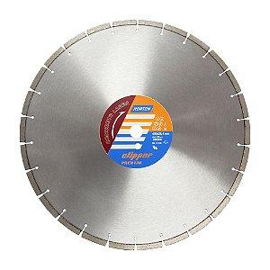 Caixa com 1 Disco de Corte Clipper Premium Concreto Laser Diamantado 450 x 10 x 25,4 mm