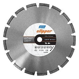 Caixa com 1 Disco de Corte Clipper Segmentado Diamantado Asfalto Asphalt Classic 350 x 25,4 mm