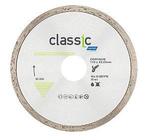 Caixa com 10 Disco de Corte Diamantado Contínuo 110 x 22,23 mm