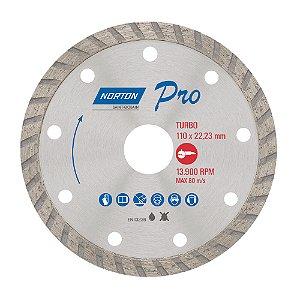 Disco de Corte Pro Turbo Diamantado 110 x 22,23 mm Caixa com 10
