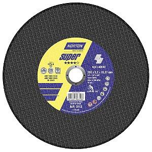 Caixa com 10 Disco de Corte Super Aços AR312 300 x 3,2 x 15,87 mm