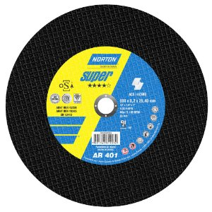 Caixa com 10 Disco de Corte Super Aços AR401 300 x 3,2 x 25,40 mm
