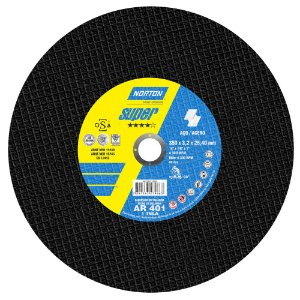Caixa com 10 Disco de Corte Super Aços AR401 350 x 3,2 x 25,40 mm