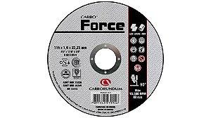 Caixa com 25 Disco de Corte T41 Carbo Force 115 x 1,6 x 22,23 mm