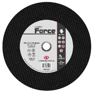 Disco de Corte T41 Carbo Force 254 x 3,2 x 25,40 mm Caixa com 10