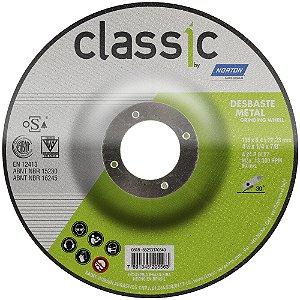 Disco de Desbaste Classic Basic BDA600 115 x 6,4 x 22,23 mm Caixa com 10