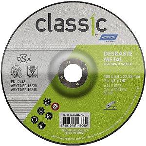 Disco de Desbaste Classic Basic BDA600 180 x 6,4 x 22,23 mm Caixa com 10