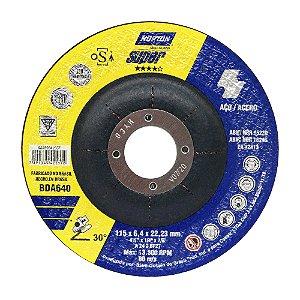 Caixa com 10 Disco de Desbaste Super Aços BDA640 115 x 6,4 x 22,23 mm