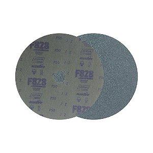 Caixa com 100 Disco de Fibra Norzon F828 Grão 50 180 x 22 mm
