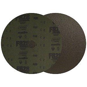 Caixa com 100 Disco de Fibra Norzon F828 Grão 60 180 x 22 mm