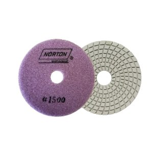 Caixa com 10 Disco de Lixa Diamantada Flexível Brilho D'Água Grão 1500 - 100 x 20 mm