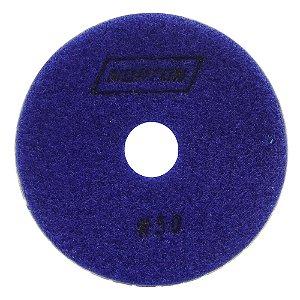 Disco de Lixa Diamantada Flexível Brilho D'Água Grão 50 - 100 x 20 mm Caixa com 10