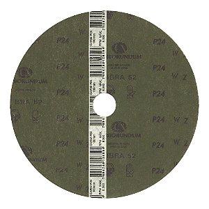 Disco de Lixa Fibra CAR52 Grão 24 180 x 22 mm Caixa com 60