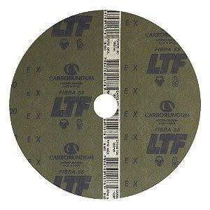 Caixa com 100 Disco de Lixa Fibra CAR55 Grão 100 180 x 22 mm