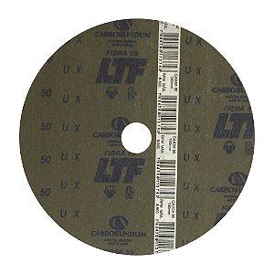 Caixa com 100 Disco de Lixa Fibra CAR55 Grão 50 180 x 22 mm