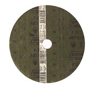 Caixa com 60 Discos de Lixa Fibra F212Grão 16 180 x 22 mm
