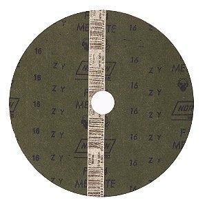 Caixa com 60 Discos de Lixa Fibra Metalite F224 Grão 16 180 x 22 mm