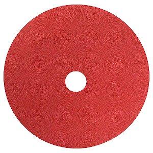 Disco de Lixa Fibra Seeded Gel F944 Grão 100 180 x 22 mm Caixa com 100