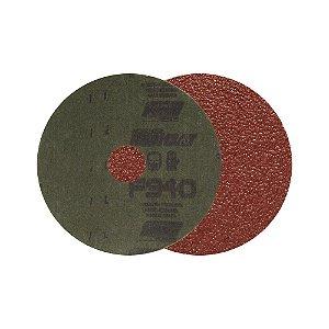 Disco de Lixa Fibra F940 Grão 60 115 x 22 mm Caixa com 100