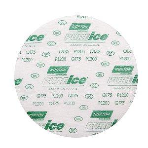 Disco de Lixa Pluma Dry Ice Q175 Grão 1200 152 mm Caixa com 50
