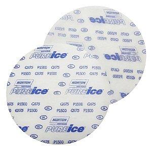 Disco de Lixa Pluma Dry Ice Q175 Grão 1500 152 mm Caixa com 50
