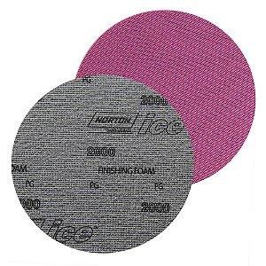 Caixa com 60 Discos de Lixa Pluma Dry Ice Q255 Grão 2000 152 mm