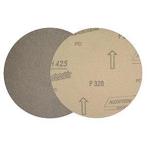 Caixa com 100 Disco de Lixa Pluma Marmore H425 Grão 320 180 mm