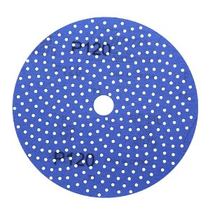 Disco de Lixa Pluma Multiair Cyclonic A975 Grão 120 152 x 18 mm Caixa com 50