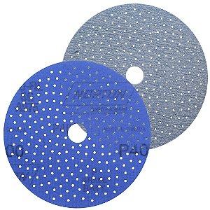 Caixa com 50 Discos de Lixa Pluma Multiair Cyclonic A975 Grão 400 127 x 18 mm