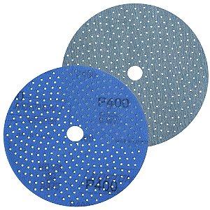 Caixa com 50 Discos de Lixa Pluma Multiair Cyclonic A975 Grão 400 152 x 18 mm