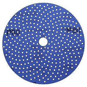 Caixa com 5 Disco de Lixa Pluma Multiair Cyclonic A975 Grão 80 152 x 18 mm