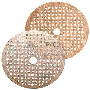 Caixa com 100 Disco de Lixa Pluma Multiair NorGrip A275 Grão 400 150 x 18 x 180 mm