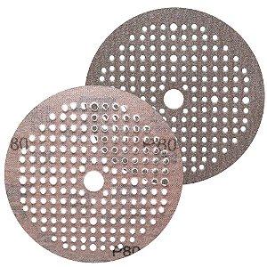 Caixa com 100 Disco de Lixa Pluma Multiair NorGrip A275 Grão 80 150 x 18 x 180 mm
