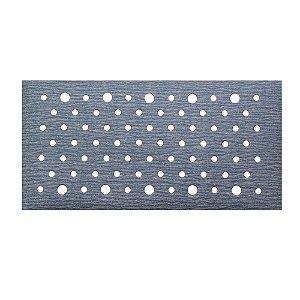 Caixa com 50 Discos de Lixa Pluma Multiair Plus NorGrip A975 Grão 400 70 x 125 mm