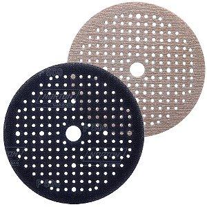 Caixa com 20 Disco de Lixa Pluma Multiair Soft-Touch A275 Grão 500 125 x 18 mm